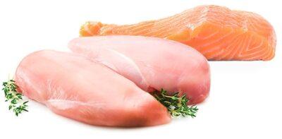 turkey-salmon